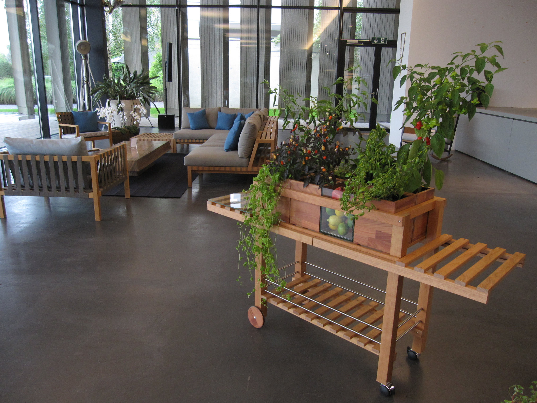 Medienbericht Rolender Grten Hochbeet Urban Gardening